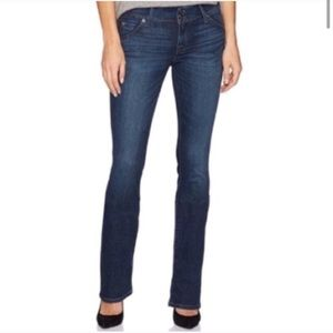 Hudson Beth Baby Boot Slim Straight Jean Long Tall